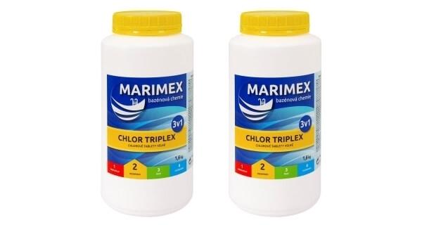 Marimex Chlor Triplex 3v1 1,6 kg - 2ks