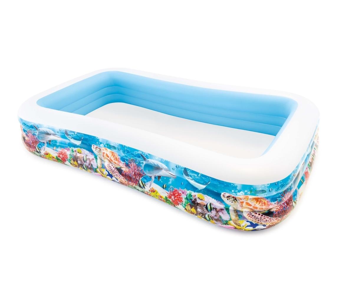 Nafukovací bazén - tropický útes