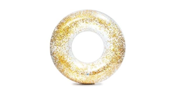 Nafukovací kruh 107 cm - trblietavý