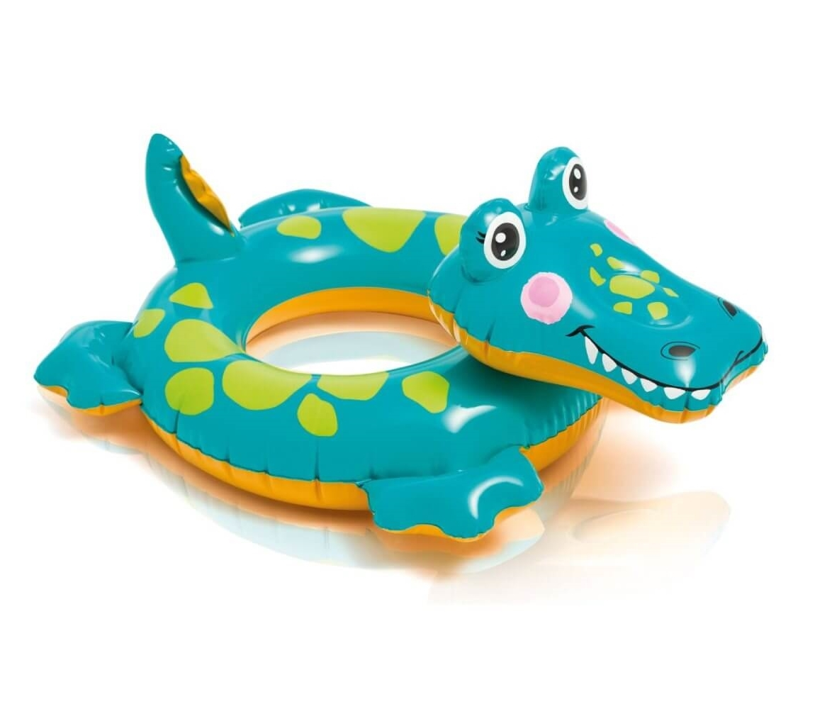 Nafukovací kruh 56 cm - krokodíl