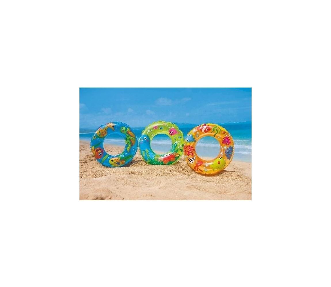Nafukovací kruh 61 cm - oceán