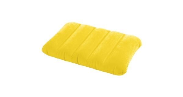 Nafukovací vankúš Intex Kidz - žltý