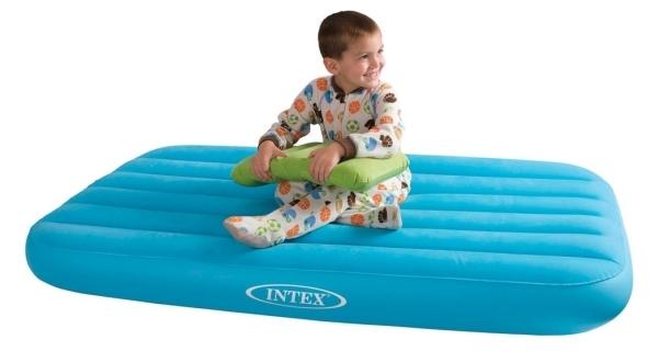 Nafukovacia posteľ Intex Cozy Kidz - modrá
