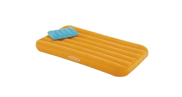 Nafukovacia posteľ Intex Cozy Kidz - oranžová