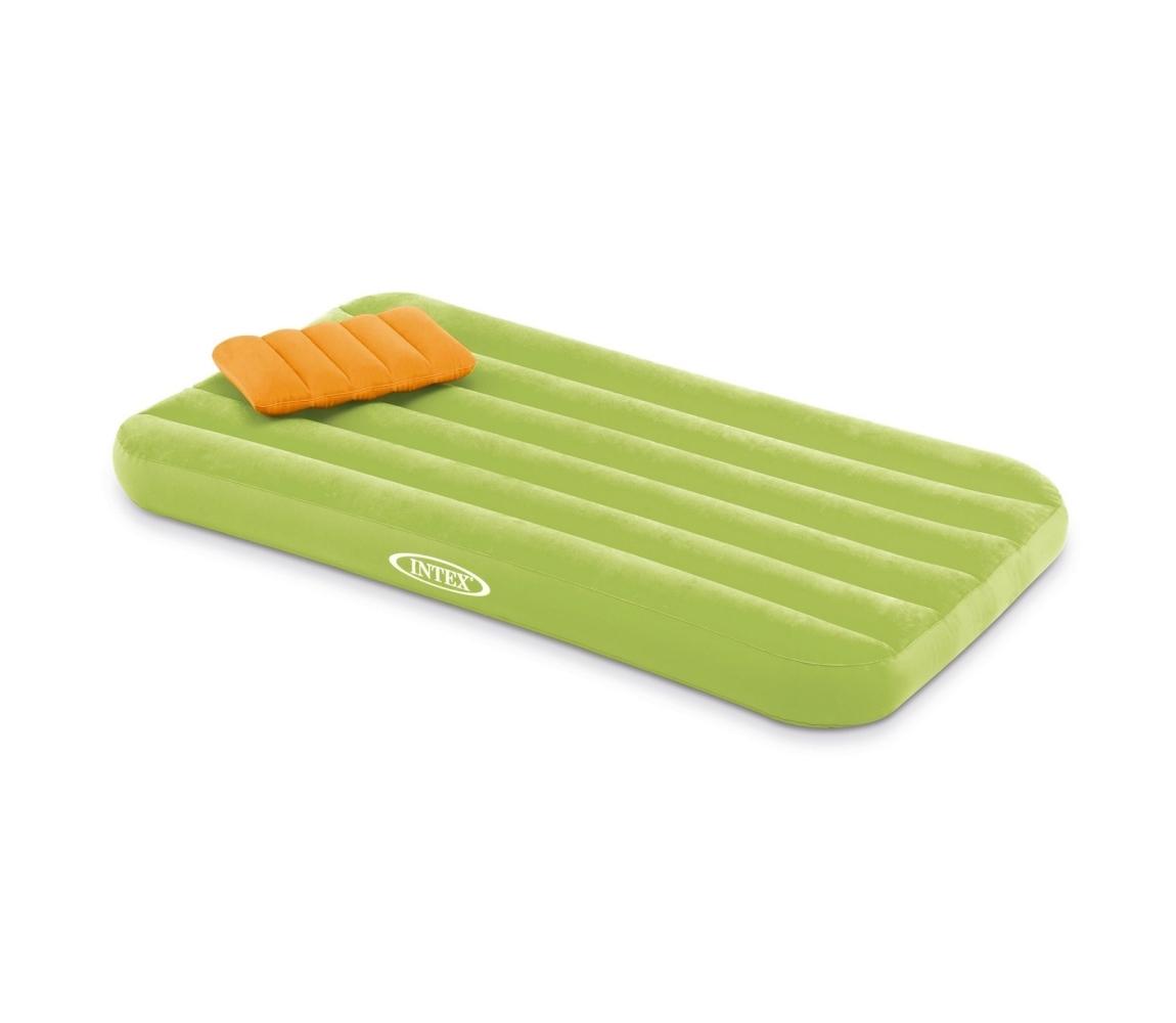 Nafukovacia posteľ Intex Cozy Kidz - zelená