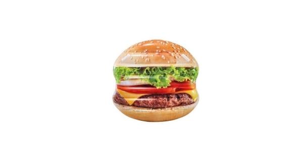Nafukovacie lehátko - hamburger