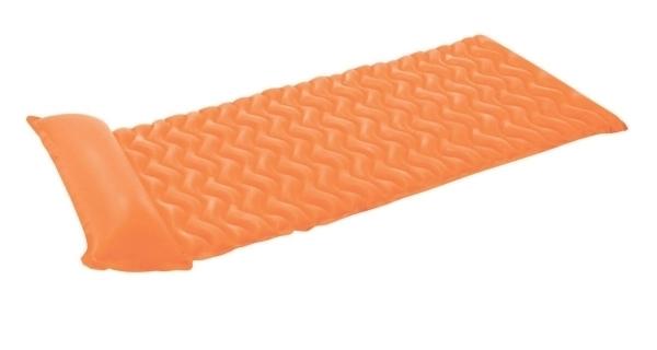 Nafukovacie lehátko - vlnovka oranžová