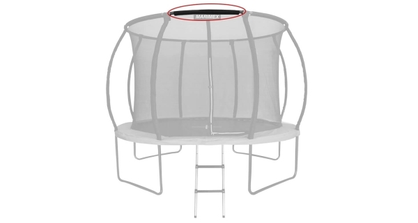 Náhradná trubka obruče ochrannej siete pre trampolínu Marimex 305 cm Premium a Premium in-ground - 104 cm