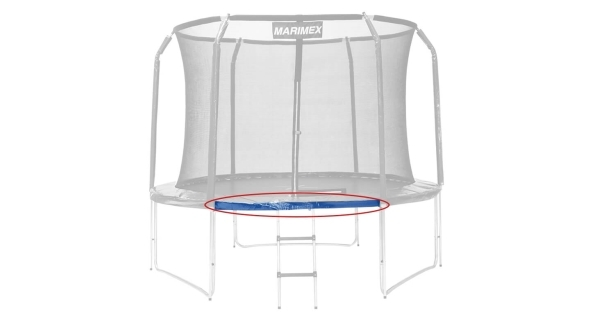 Náhradná trubka rámu pre trampolínu Marimex 396 cm - 153,5 cm