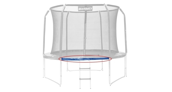 Náhradná trubka rámu pre trampolínu Marimex 427 cm - 165,2 cm