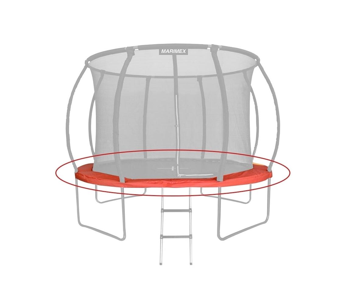 Náhradný kryt pružín oranžový - trampolína Premium 457 cm