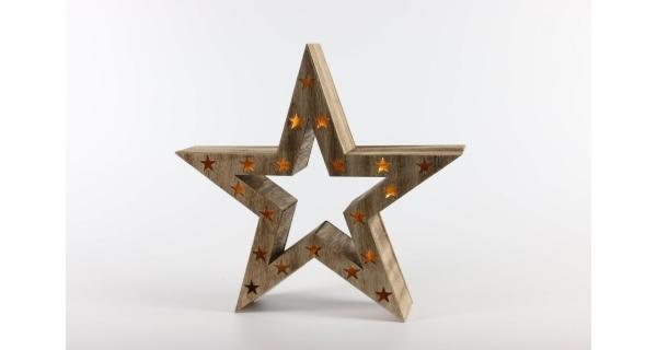 Nature hviezda 10 LED