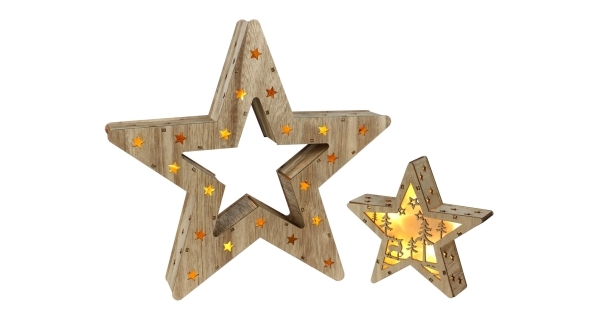 Nature hviezda 2v1 16 LED