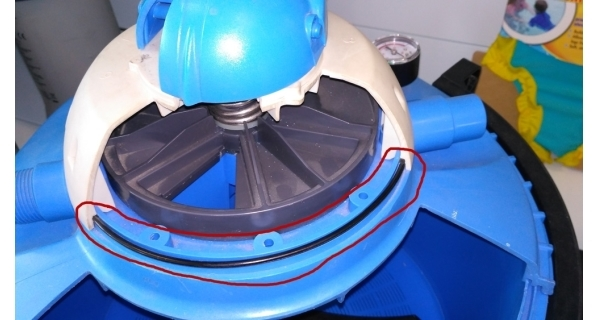 O-krúžok viečka filtrácie ProStar 4 a ProStar 6