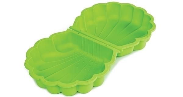 Pieskovisko/bazénik - mušľa s krytom - zelená