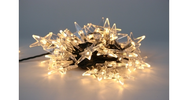Reťaz s hviezdami 40 LED