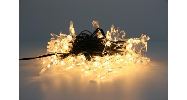 Reťaz so stromčekmi 40 LED - teplá biela