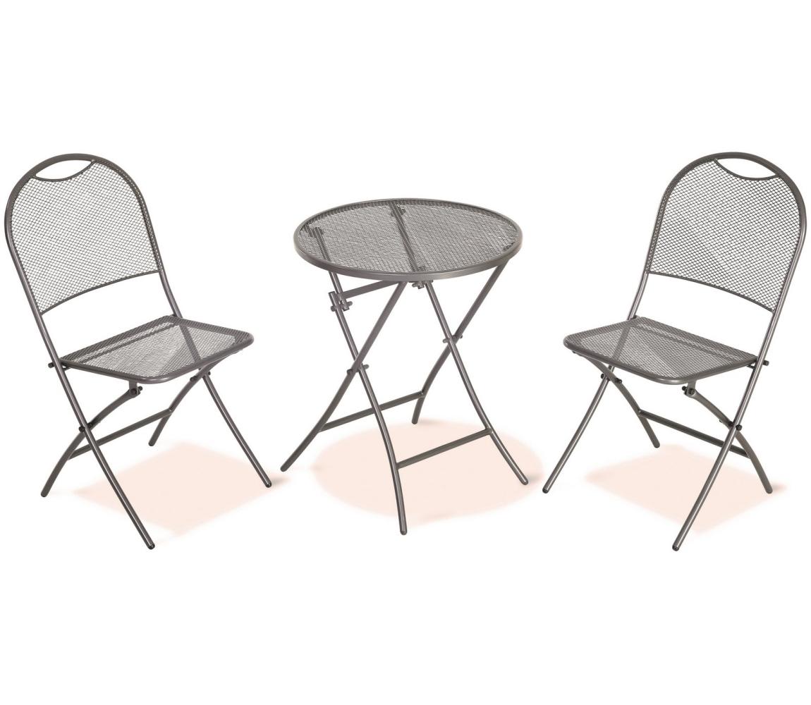 Sada balkónová - ťahokov (2 stoličky + stôl)