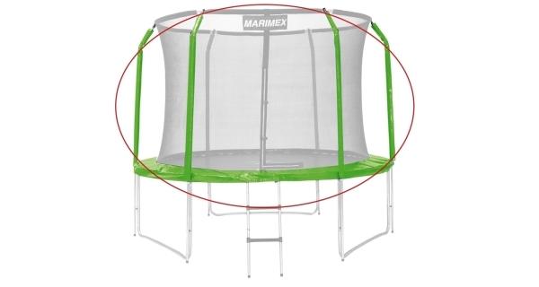 Sada krytu pružín a rukávov pre trampolínu 305 cm - zelená