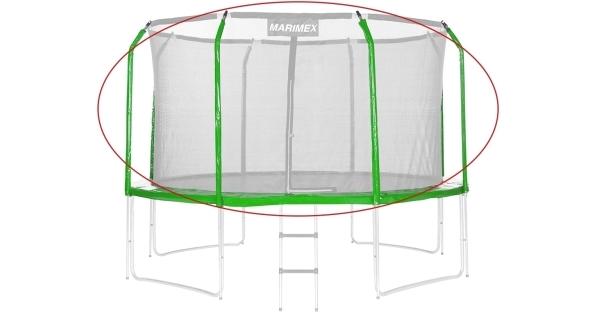Sada krytu pružín a rukávov pre trampolínu 366 cm - zelená