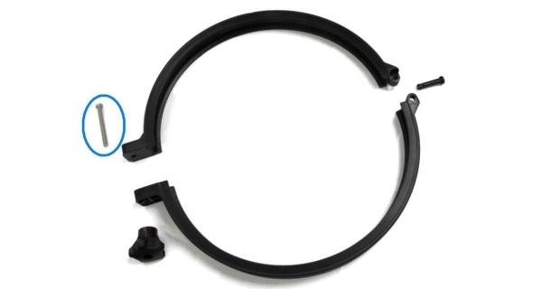 Skrutka uzatváracia , kovové spony filtr. nádoby Prostar - 25