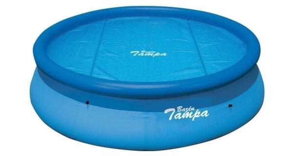 Solárna plachta modrá pre bazény s Ø hladiny 2,5 m