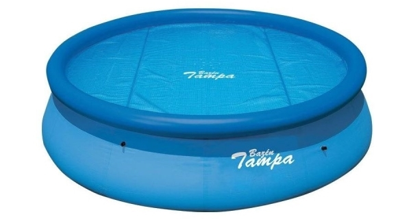 Solárna plachta modrá pre bazény s Ø hladiny 3 m