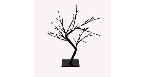 Stromček so žiarovkami 48 LED - teplá biela