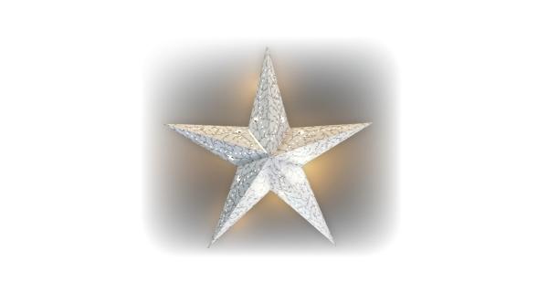 Svietiaca hviezda 1 LED