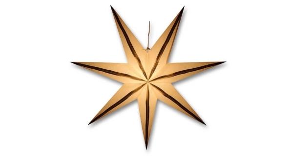 Svietiaca hviezda - zlaté prúžky