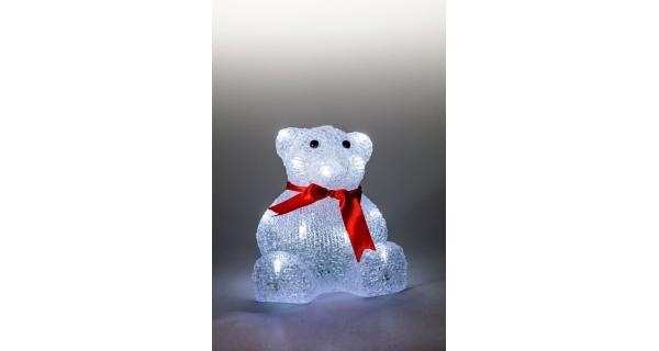 Svietiaci medveď 22 LED