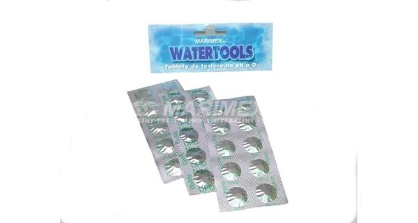 Tablety do testeru na meranie O2