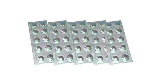 Tablety do testeru na meranie pH - 5 x 10 ks