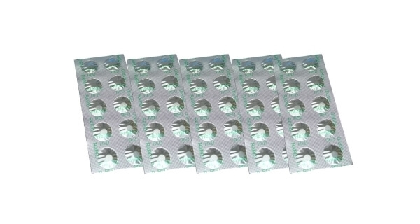 Tablety (DPD1) do testeru na chlór (5 x 10 ks)