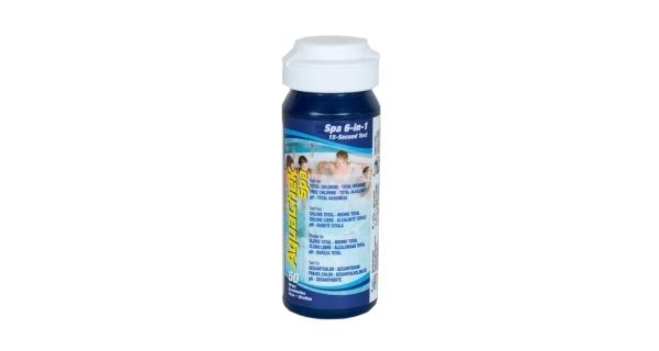 Testovacie pásiky AquaChek Spa 6v1, 50 ks
