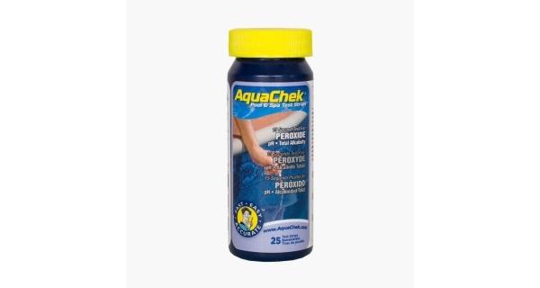 Testovacie pásky AquaChek Peroxide 3v1, 25 ks