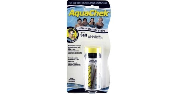 Testovacie pásky AquaChek Salt, 10 ks