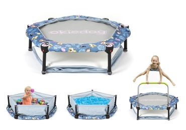 Trampolína 4v1 - 100 cm - Tropic Jungle