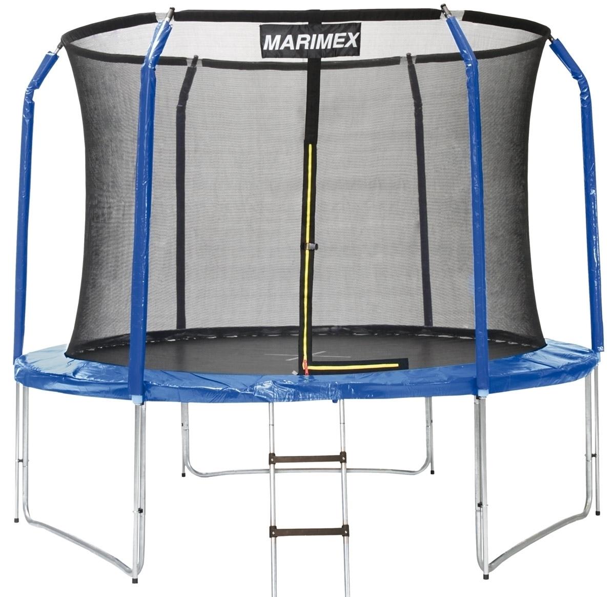 Trampolína Marimex 305 cm + ochranná sieť + schodíky ZDARMA