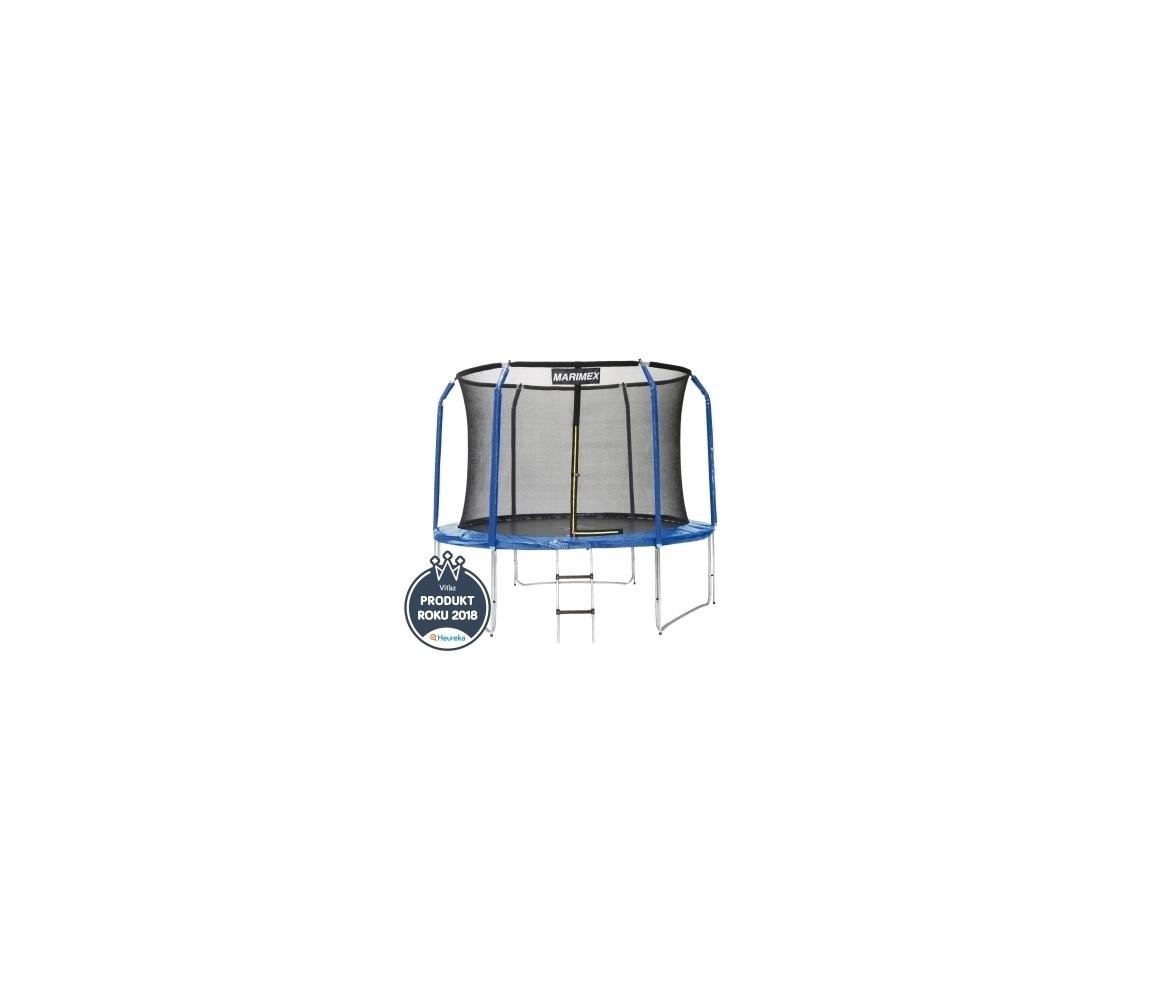 Trampolína Marimex 305 cm + vnútorná ochranná sieť + schodíky ZADARMO