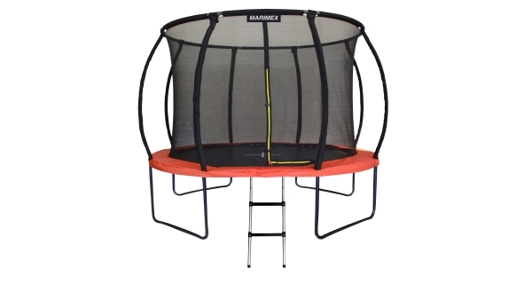 Trampolína Marimex PREMIUM 366 cm + vnútorná ochranná sieť + schodíky ZADARMO