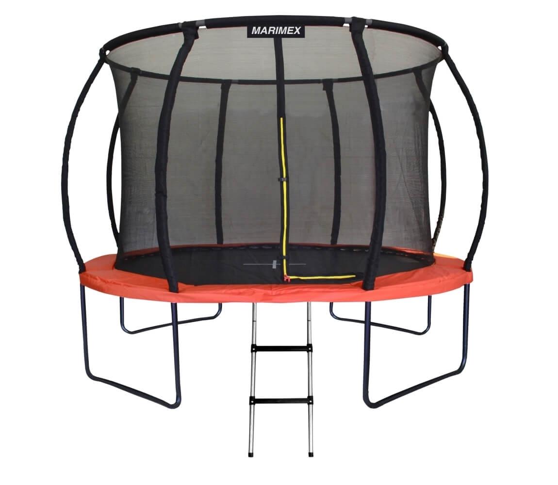 Trampolína Marimex PREMIUM 366 cm + vnútorná ochranná sieť + schodíky ZDARMA