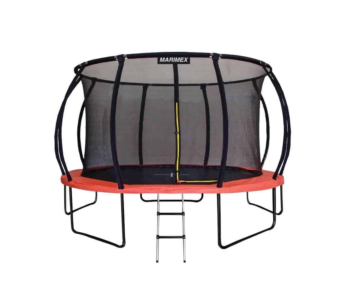 Trampolína Marimex PREMIUM 457 cm + vnútorná ochranná sieť + schodíky ZDARMA