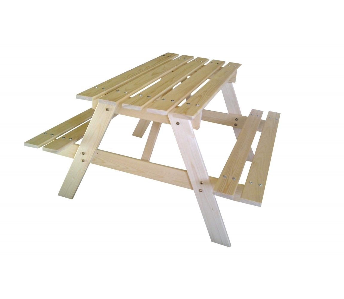 Zostava detská drevená PIKNIK 70 cm